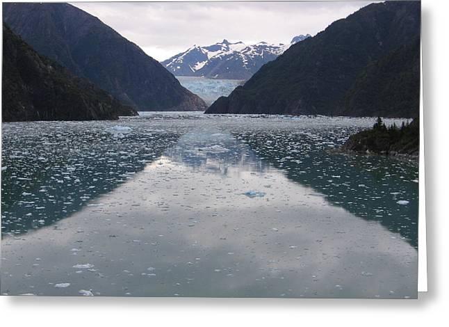 Glacier Blues Greeting Card