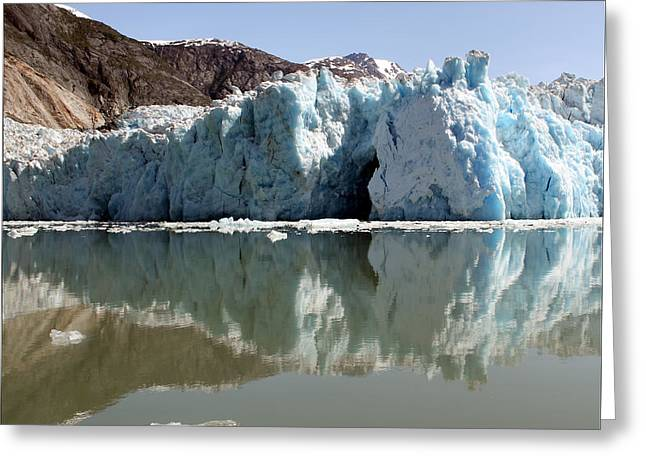 Glacier Ice Cave 19 Greeting Card