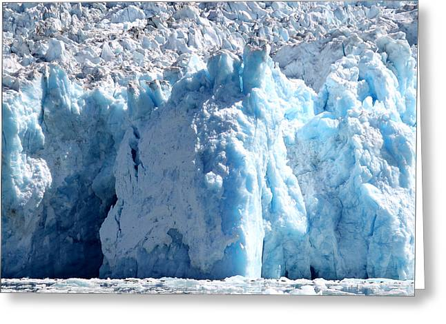 Glacier Ice Cave 9 Greeting Card