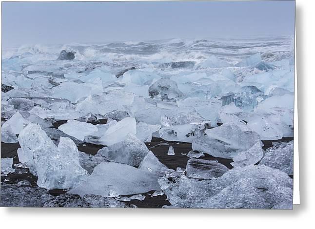 Glacier Ice Greeting Card