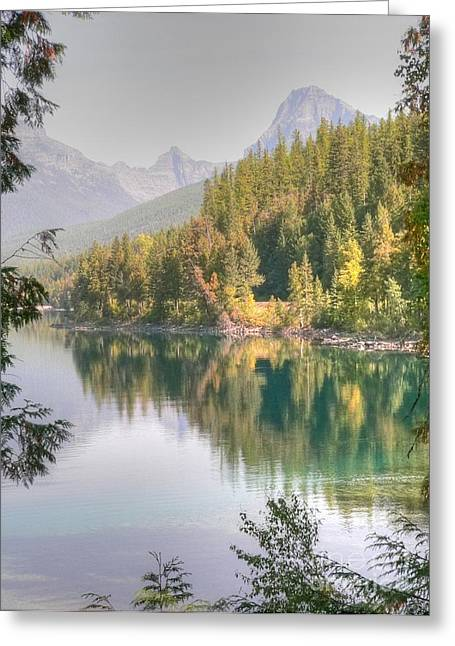 Glacier National Park - 2 Greeting Card by David Bearden