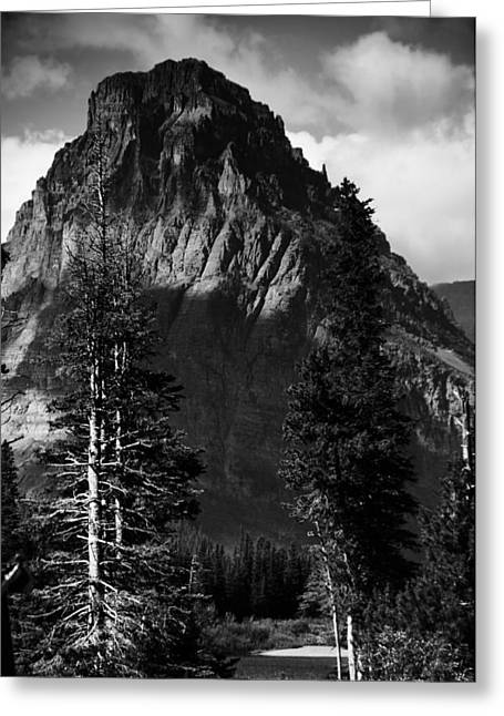 Glacier National Park Fifty Three Greeting Card