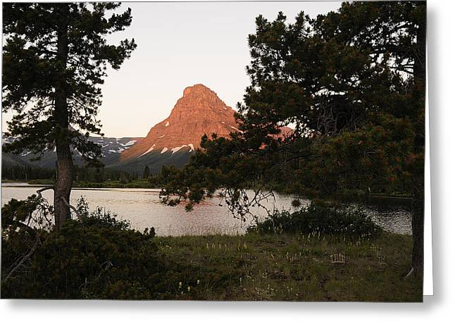 Glacier Nat'l Park-montana Greeting Card by Keith Lovejoy