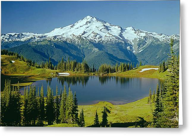 1m4422-glacier Peak, Wa  Greeting Card