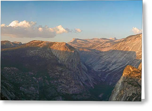 Glacier Point Panorama Greeting Card
