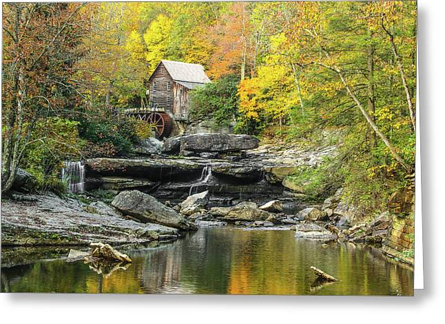 Glade Creek Grist Mill #1 Greeting Card