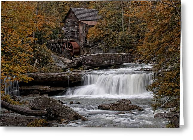 Glade Creek Mill 2011 Greeting Card by Wade Aiken