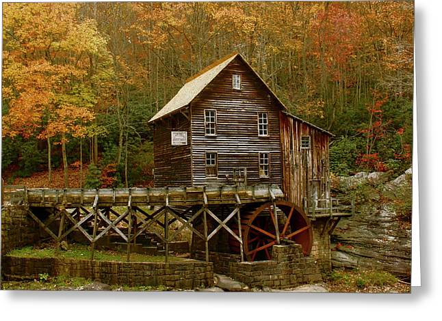 Glade Grist Mill Greeting Card