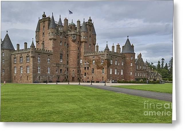Glamis Castle Greeting Card by Julian  Walters