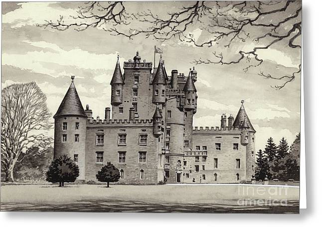 Glamis Castle Greeting Card