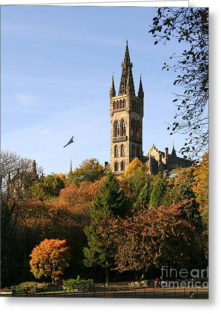 Glasgow University Greeting Card