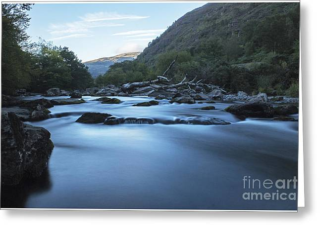 Glaslyn Pass Greeting Card by Chris Evans