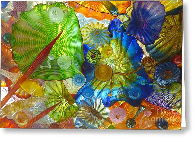 Glass Ceiling 5 Greeting Card