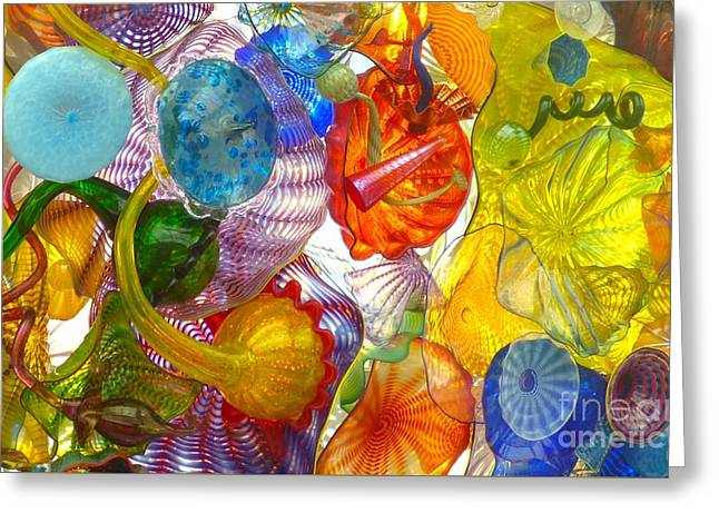 Glass Ceiling 6 Greeting Card