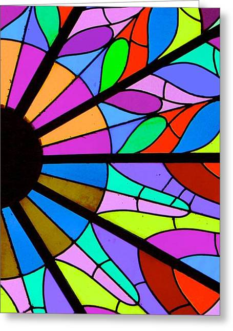 Glass Ceiling, Bayberry Nursery Greeting Card by Susan Irene Richardson