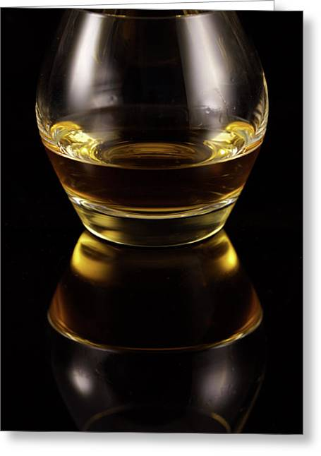 Glass Of Whiskey Greeting Card
