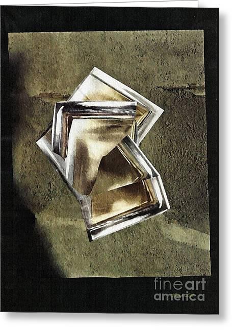 Glass Sculpture Greeting Card
