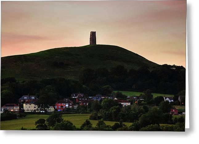Glastonbury Tor - England Greeting Card by Joana Kruse