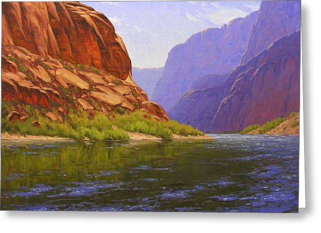 Glen Canyon Morning Greeting Card
