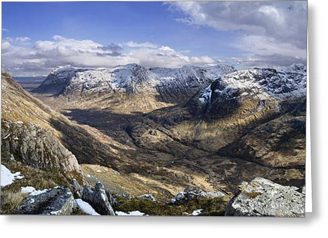 Glencoe - Scotland Greeting Card