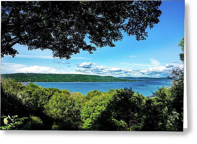 Glen Lake Greeting Card