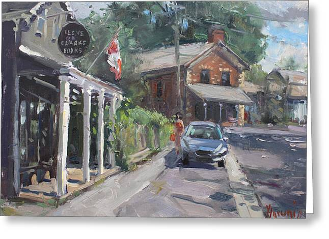 Glen Williams Ontario Greeting Card by Ylli Haruni