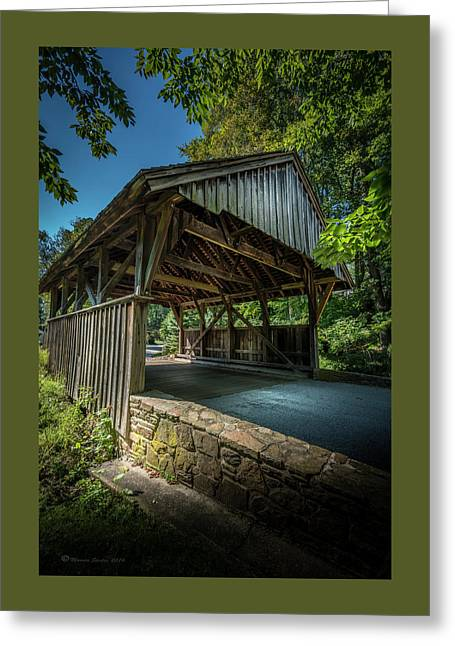 Glenbrook Lane Greeting Card by Marvin Spates