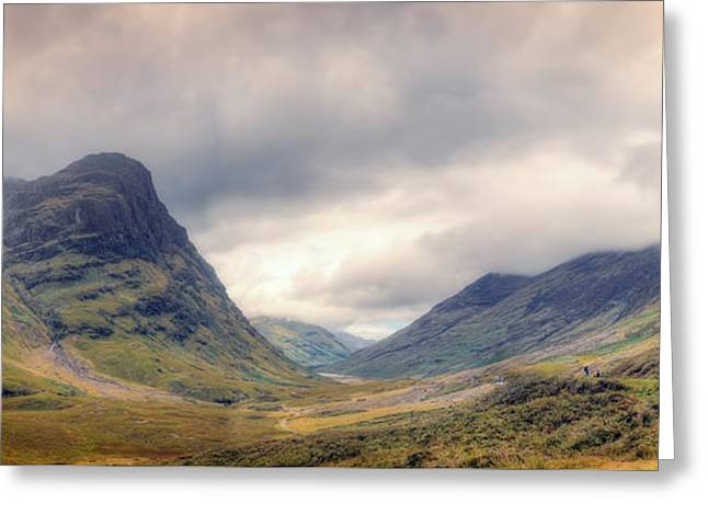 Glencoe Panorama Greeting Card
