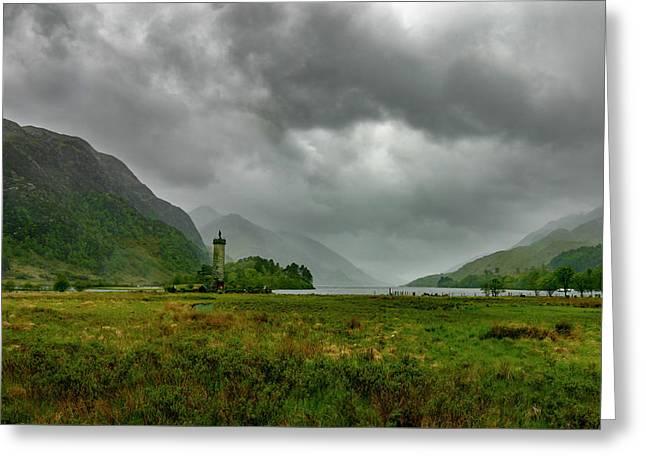 Glencoe, Scotland Greeting Card
