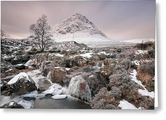 Glencoe Winter Morning Greeting Card