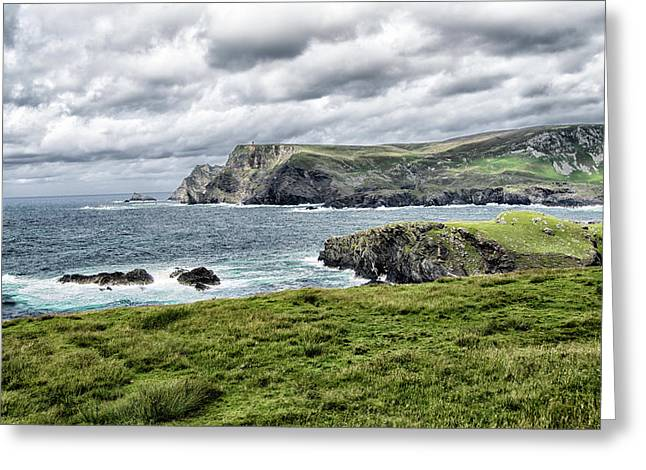 Glencolmcille Greeting Card by Alan Toepfer