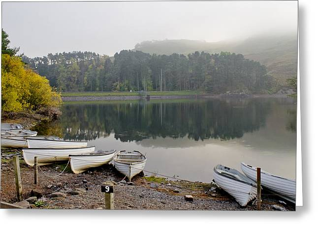 Glencorse Reflection. Greeting Card
