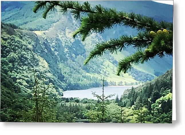 Glendalough Wicklow Greeting Card