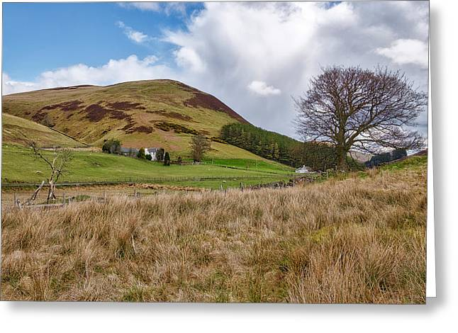 Greeting Card featuring the photograph Glendevon In Central Scotland by Jeremy Lavender Photography