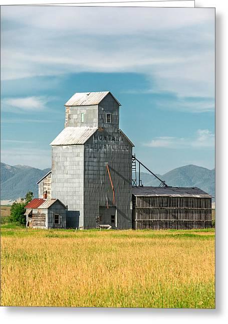 Glengarry Grain Elevator Greeting Card