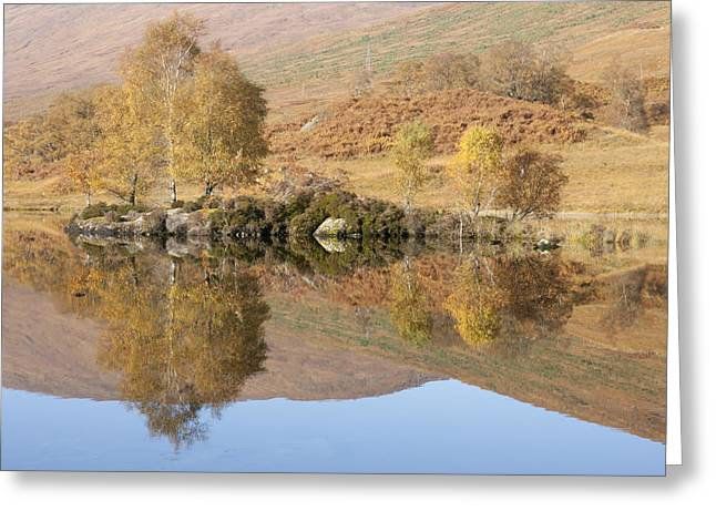 Glengarry Reflection Greeting Card