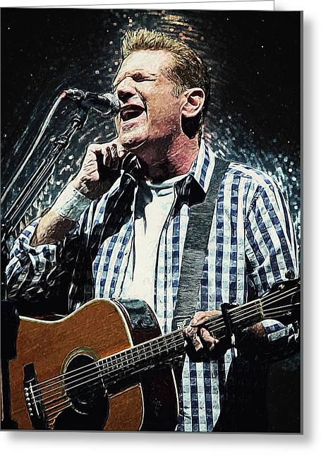 Glenn Frey Greeting Card