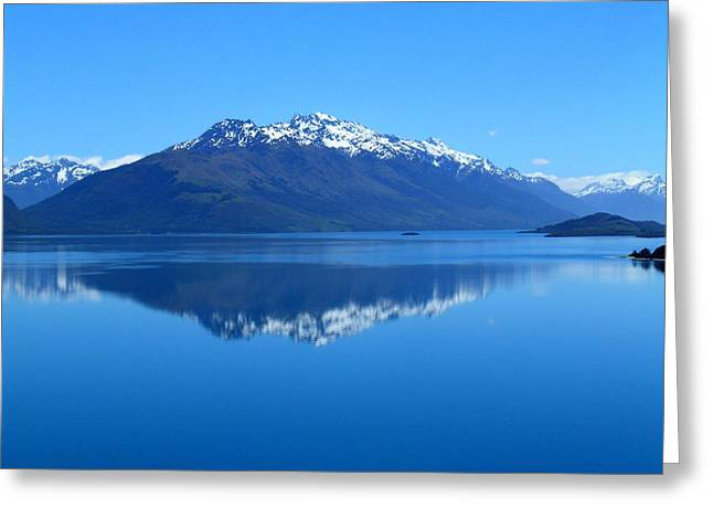 Glenorchy Road New Zealand Greeting Card