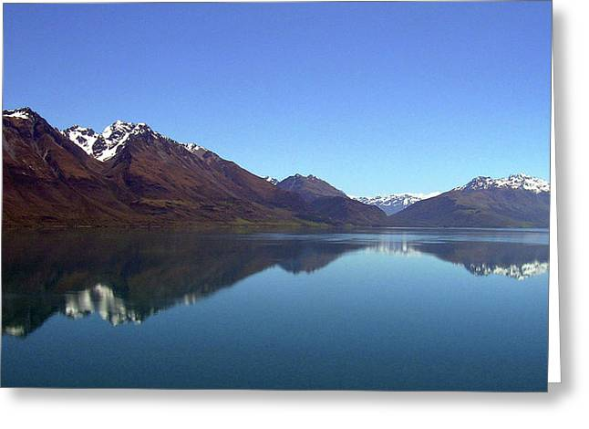Glenorchy Road No. 140-1 Greeting Card by Sandy Taylor