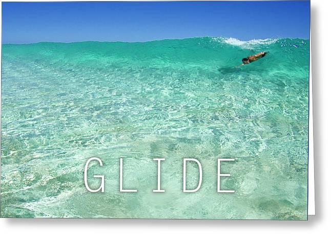 Glide Greeting Card