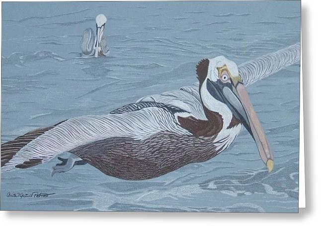 Glider Greeting Card by Anita Putman