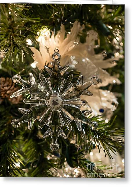 Glistening Holidays Greeting Card by Jennifer White