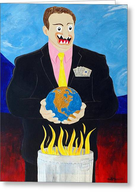 Global Warming Truth Greeting Card