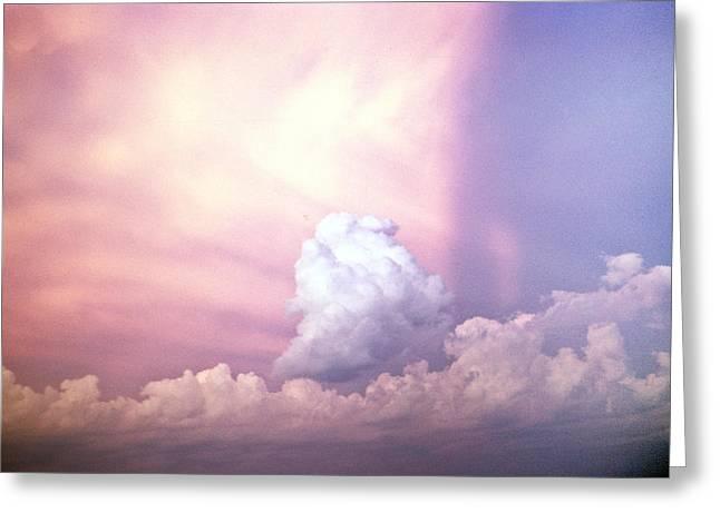 Glories Of Heaven Greeting Card by Douglas Barnett