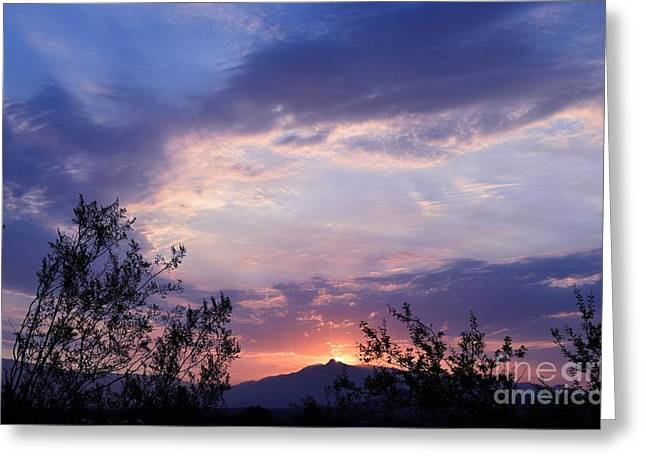 Glorious Arizona Sunrise Greeting Card