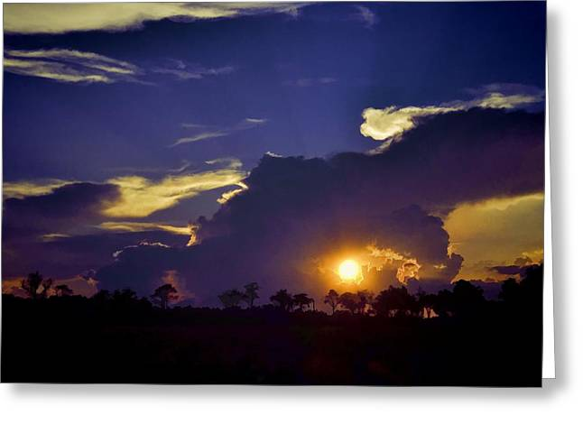 Greeting Card featuring the photograph Glorious Days End by Jan Amiss Photography