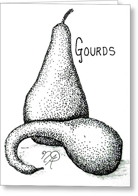 Glorious Gourds Greeting Card