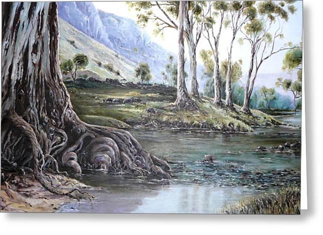 Glorious Gums - Flinders Ranges Greeting Card