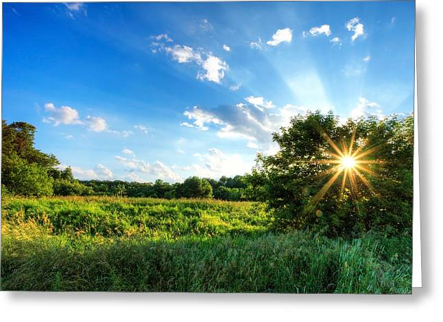 Greeting Card featuring the photograph Glorious Landscape by Anthony Rego