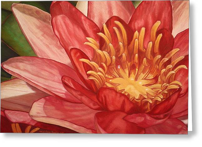 Glorious Greeting Card by Melissa Tobia